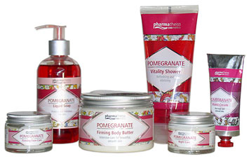 Pomegranate Skin Care Cosmetics from PharmaTheiss